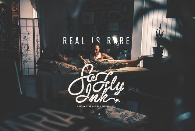 Real is Rare / So fly inK